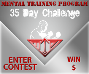 "35 Day Challenge Contest The Underdog Pat ""Bam Bam"" Healy And The Road Less Traveled   Part 2"