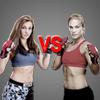 @MieshaTate Versus @julesk_fighter