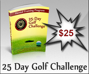 Join ours 25 Day Golf Challenge